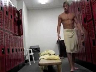 locker room hottie