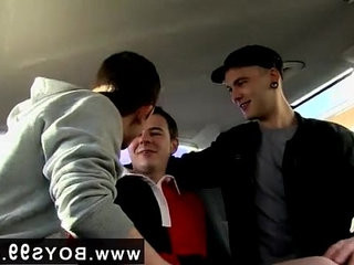 Senior gay dudes free flicks dangled Rugby Boy Used In The Back Seat