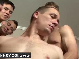 Gay solo cum on chest Kriss Kross the Bukkake Boss