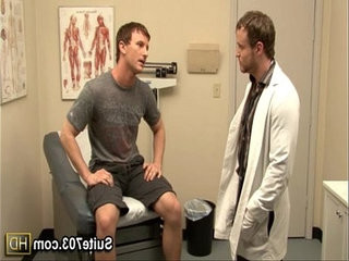 Gay doctor webcameron fuck patient Nash in the office only