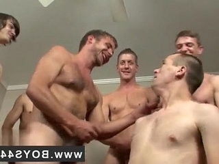 Gay gangbang jism eating boy movie Kriss Kross the Bukkake chief
