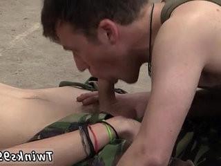 Extreme gay facial cumshot Uniform cute gays Love Cock!