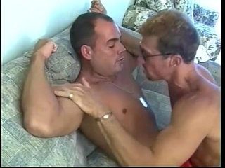 Hard bodied muscled beach lifeguards pounding ass slotranssexual on couch