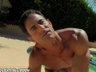 homo man cum stained drawers jerking movies Daddy Poolside Prick Loving
