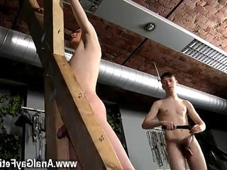 hook-upy gay Victim Aaron gets a whipping, then gets his hole properly