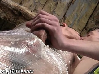 Gay fuck very small boy Horny stud Sean McKenzie is already roped up
