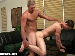 youthful college student lets his instructer fuck his tight assslot