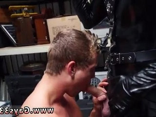flick gay lovemaking muscle youthful total length dungeon space master with a gimp