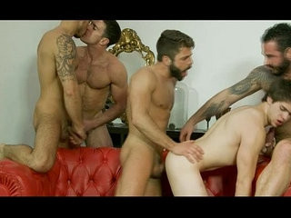 Will hooter-slinguns orgy with jismfountains