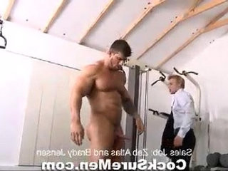 Best masculine movies Muscle giant Zeb Atlas fucks a gay man no.